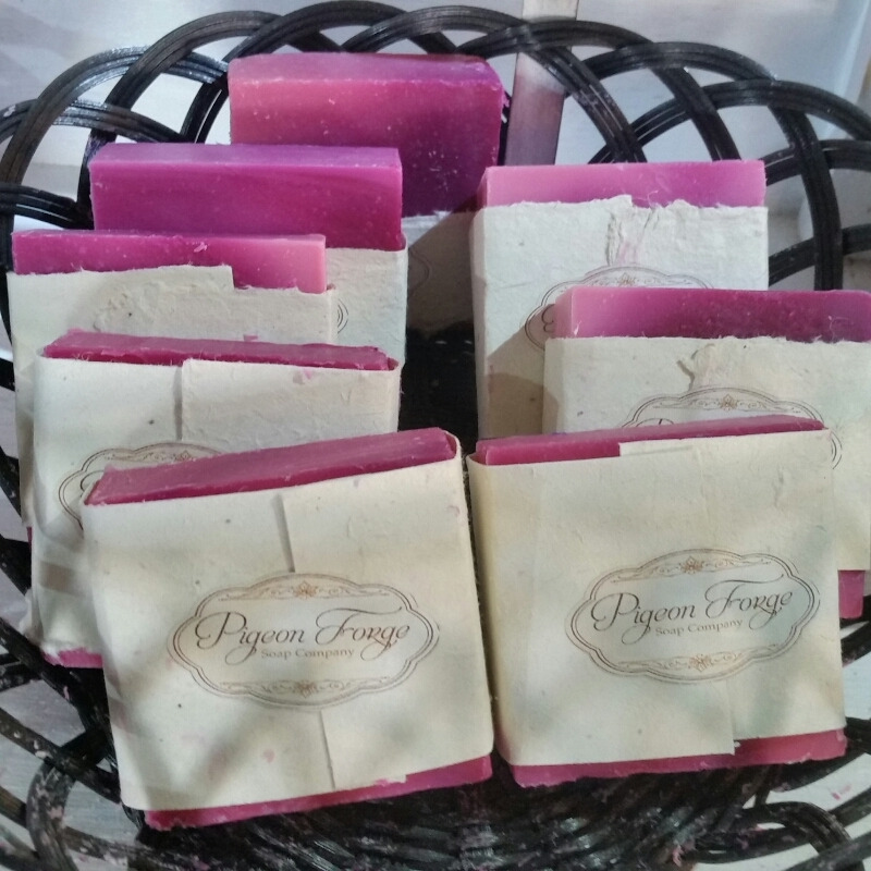 Raspberry Mint Soap