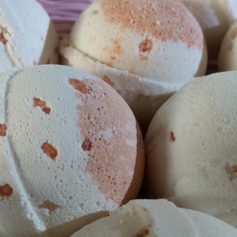 Cherry Almond Bath Bombs