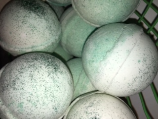 Bergomot Lime Bath Bombs