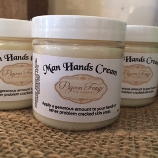 Man Hands Cream