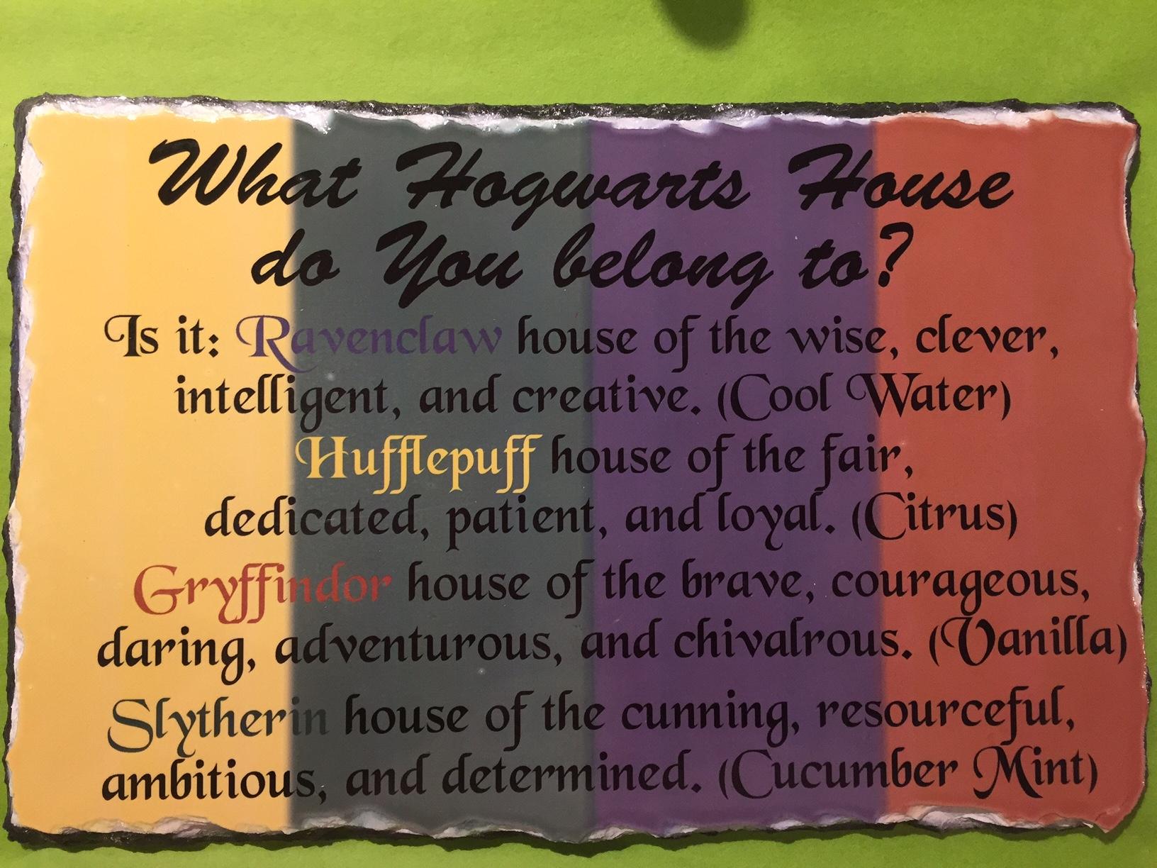 Hogwarts House Bath Bomb
